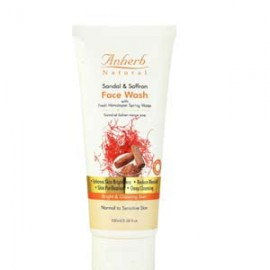 Anherb Sandal & Saffron Face Wash