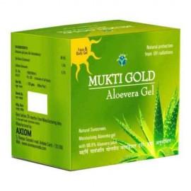 Axiom Mukti Gold Aloevera Gel 125 gm