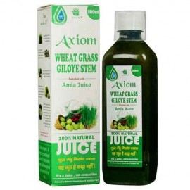 Axiom Wheat Grass Giloye Stem Enriched with Amla Juice