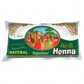 Ayur Dark Brown Mehandi Rajasthani 75 gm
