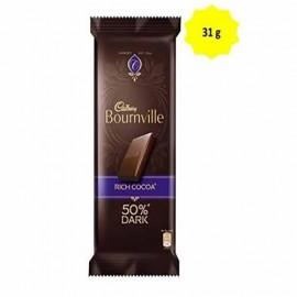 Cadbury Bournville Chocolate 31 gm