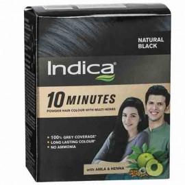 Indica 10 Minutes Natural Black Hair Colour 40 g