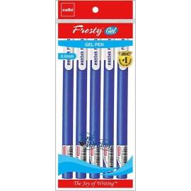 Cello Frosty Gel pen 5N 1 Pack