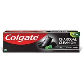 Colgate Charcoal Clean Toothpaste, Bamboo Charcoal and Min 120 gm