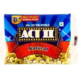Act Ii Natural Popcorn 33 gm