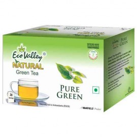 Eco Valley Green Tea Pure Green Long Leaf 100 gm
