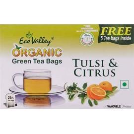 Eco Valley Organic Green Tea 30 Tea Bags