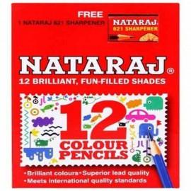 Nataraj Colour Pencils 12 Shades