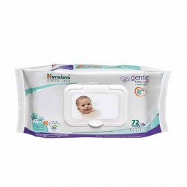 Himalaya Wipes - Gentle Baby, 72 pcs Pouch