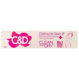 Clean And Dry Clotrimazole Cream 15 gm