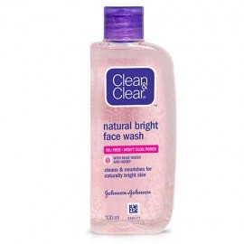 Clean & Clear Natural Bright Face Wash 100 ml