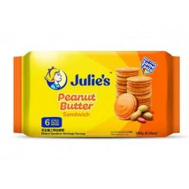 Julie's Peanut Butter Sandwich Cookies 180 gm