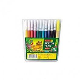 Camel Sketch Pens 12 Shades