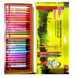 Camel Wax Crayons 24 Shades