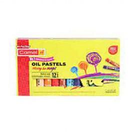 Camel Oil Pastels 12 Shades