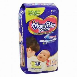 Mamy Poko Pants Extra Absorb New Born 1 28 Pants