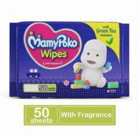 Mamy Poko Soft Baby Wipes 50 Sheets