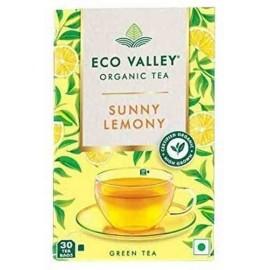 Organic Green Tea Sunny Lemony 30 Tea Bags
