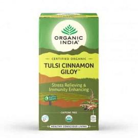 Organic India Tulsi Cinnamon Giloy 25 Bags