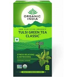 Organic India Tulsi Green Tea Bags 18 Pc Box