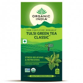 Organic India Tulsi Green Tea Classic 25 Bags