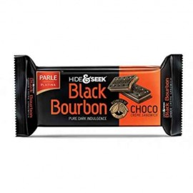 Parle Hide and Seek Black Bourbon Choco Creme Biscuit 100 gm