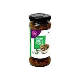 Prabhuji Green Chilli Pickle 350gm