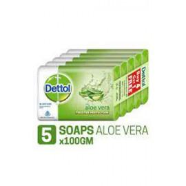 Dettol Aloe Vera Soap 75 gm Buy 4 Get 1 Free