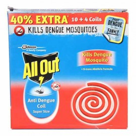 All Out Anti dengue Coil 14 Coils