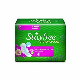 Stayfree Advanced Xl Ultra Comfort Xl With Wings  1 Pkt