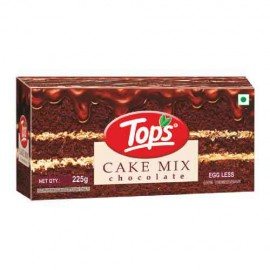 Tops Cake Mix Egg Less 225 gm