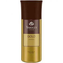 Yardley London Gold Perfumed Deodorant Body Spray For Men 150 ml